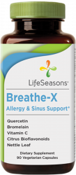 LifeSeason's Breathe-X Allergy and Sinus Support